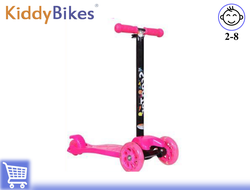 САМОКАТ SCOOTER SUPER (РОЗОВЫЙ) Kiddy-bikes