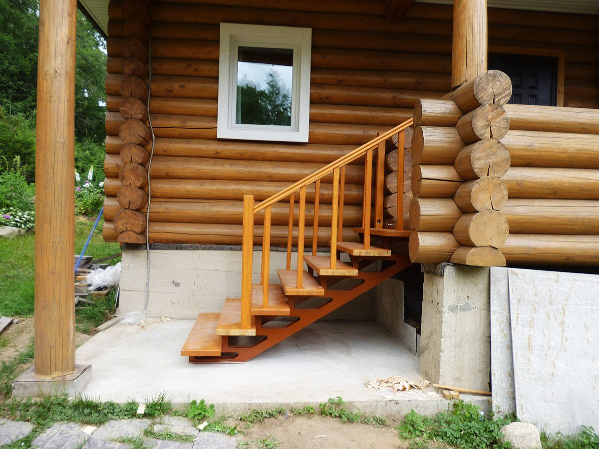 Лестницы на металлокаркасе советы