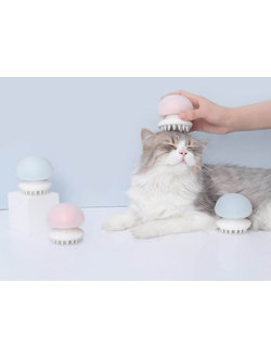 Массажер для животных Xiaomi Furrytail jellyfish pet massage comb