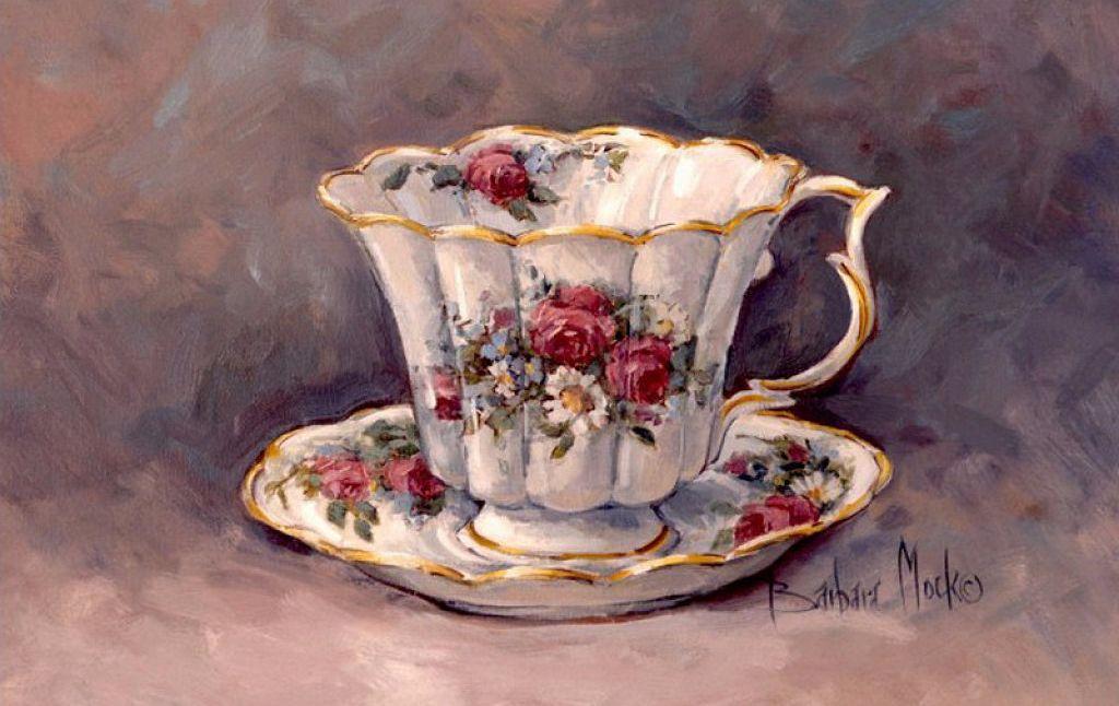 картинки для декупажа чашка с чаем представлены