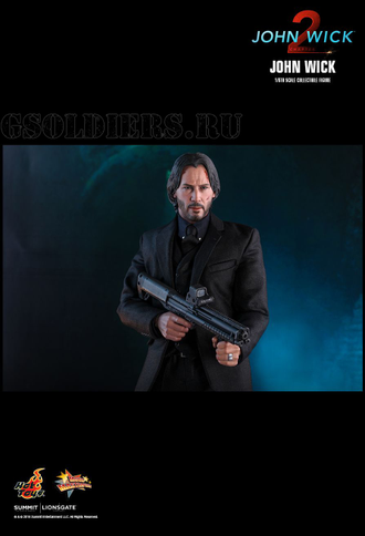 Джон Уик (Киану Ривз) ФИГУРКА 1/6 scale Action figure JOHN WICK® (Keanu Reeves) (MMS504) Hot Toys