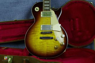 Gibson Les Paul Traditional Tobacco Burst 4A TOP Tim Shaw Set