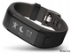Фитнес-браслет Garmin Vivosmart HR+ black gray