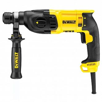 Трехрежимный 2-кг DEWALT SDS-plus перфоратор 26 мм, 800 Вт D25133K
