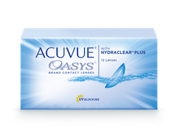 ACUVUE® OASYS with HYDRACLEAR® PLUS(12 линз)