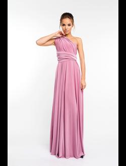 8e7b0e6386e Платье трансформер на выпускной 2018 - NAOMI - Розовый кварц. В наличии