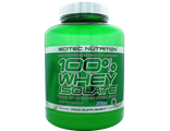 100% WHEY ISOLATE Scitec Nutrition 2000 грамм