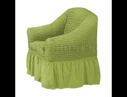 Чехол Стандарт на кресло, цвет Зеленый светлый