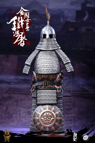 Коллекционная ФИГУРКА 1/6 scale The Jurchen Jin Dynasty Iron pagoda (DS001-B) POPTOYS
