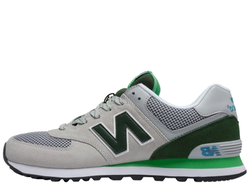 Унисекс New Balance 574 Gray/Green