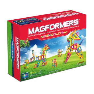 Конструктор Magformers Neon color set - 60