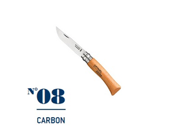 Нож Opinel №08 Carbon