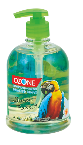 Мыло жидкое «Ozone» Green Forest