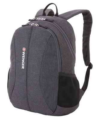 Рюкзак WENGER 13'', 5639424408, cерый, ткань Grey Heather/полиэстер 600D PU, 33х16х45см, 23л