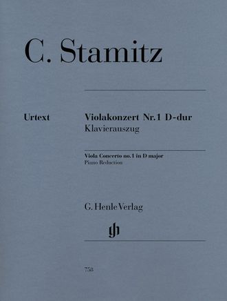 Carl Stamitz Viola Concerto no. 1 D major