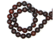 Бусина Яшма брекчиевая, шар 10 мм (1 шт) №18927