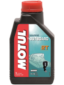 МОТОРНОЕ МАСЛО MOTUL OUTBOARD 2T-1 ЛИТРА