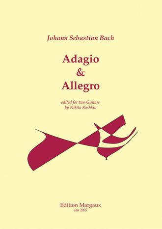 Bach Adagio und Allegro for two Guitars (N.Koshkin)