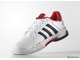 Теннисные кроссовки Adidas Barricade Club All Court (white/red)