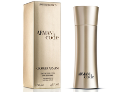 Armani Code Limited Edition Gold туалетная вода