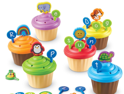 ABC Party Cupcake