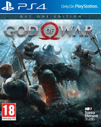 Игра для ps4 God of war 4
