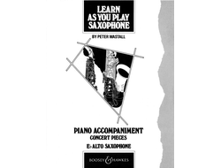 Learn As You Play Saxophone, Concert Pieces