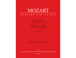 Mozart, Concerto for Clarinet and Orchestra A major KV 622
