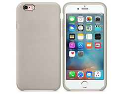 iPhone 6 / 6s silicone case бежевый