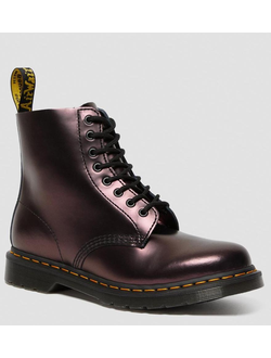 Ботинки Dr. Martens 1460 METALLIC RED  женские