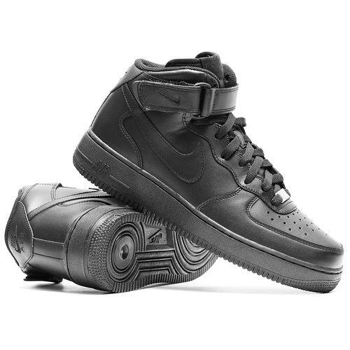 57a9575c Заказать кроссовки Nike Air Force Mid '07 Black со скидкой ...
