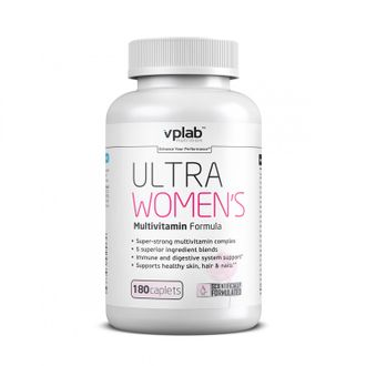 Ultra Womens Multivitamin Formula (VP Lab) 180 таб.