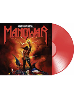 Manowar - Kings Of Metal LP colored