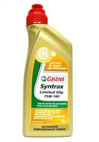 Масло Castrol Syntrax Limited Slip 75/140 GL-5 1л трансм.