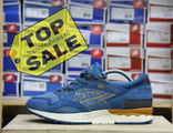 Asics Gel Lyte V Blue\Tan