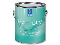 Sherwin-Williams Harmony натуральная суконно-матовая Американская Эко-Краска