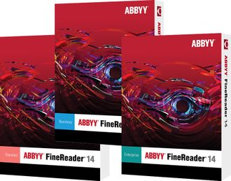 ABBYY FineReader 14 Business лицензия на 1 год.