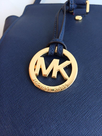Сумка Michael Kors Selma Large (синяя)