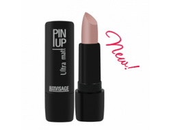 Матовая помада PIN UP ultra matt LUXVISAGE, 4 г