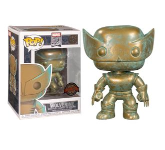 Купить Фигурка Funko POP! Bobble: Marvel: Marvel 80th: Wolverine (PT)(Exc) 42215