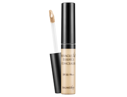 Консилер Miracle Fit Essence Concealer  SECRET KEY light beige