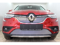 Защита радиатора Renault Arkana 2018- chrome низ PREMIUM
