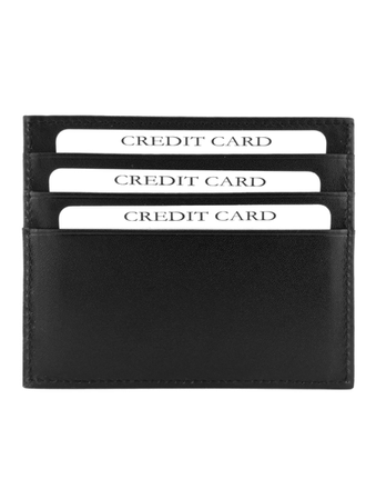 Кардхолдер QOPER Credit card holder black