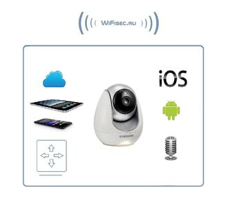 Samsung Baby View SEP-5001RDP поворотная WiFi IP видеоняня