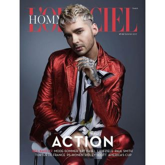 L'OFFICIEL HOMMES DEUTSCH Summer 2017 Bill Kaulitz, Tokio Hotel Cover ИНОСТРАННЫЕ ЖУРНАЛЫ PHOTO FASH