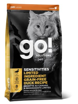 GO! Sensitivity + Shine Grain Free Duck Cat Recipe 1,81 kg
