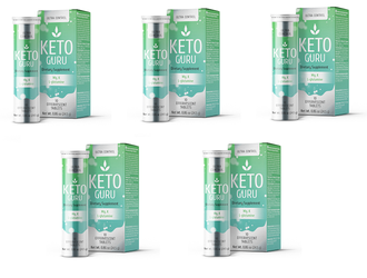 Keto Guru Effervescent tablets for Keto Diet (5 packages)