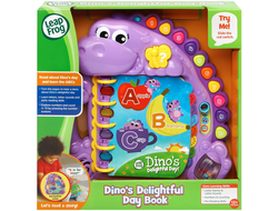 Dino's Delightful Day Alphabet Book от Leap Frog