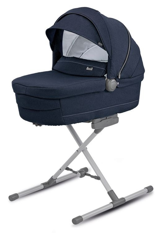 INGLESINA TRILOGY IMPERIAL BLUE ШАССИ TITATIUM SLATE