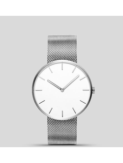 Наручные часы Xiaomi Twenty Seventeen light fashion quartz watch серебристые